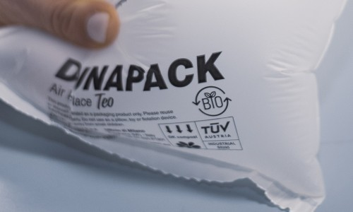 TEO: film biodegradabile e compostabile AIR IN PLACE di ultimissima generazione