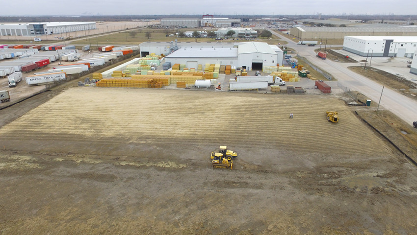 Expansion Phase #3 for the plant in Baytown (Texas, USA)