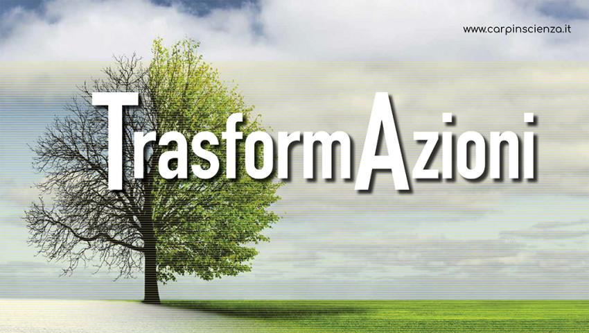"""CarpInScienza and its """"TransformActions"""""""