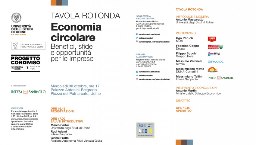 """ROUND-TABLE DISCUSSION ON """"CIRCULAR ECONOMY"""""""
